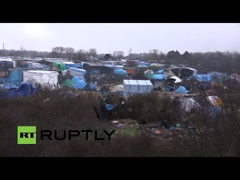 LIVE from Calais refugee camp after eviction order issued