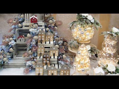 Idee vetrina natalizia e alberi di natale per negozi shop guerrini youtube for Idee per progettare casa