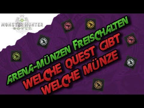 Monster Hunter World Arena Münzen Freischalten Welche Quest Gibt