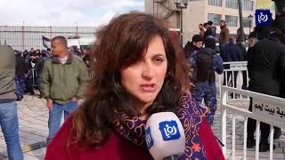 مصادمات احتجاجا على زيارة بطريرك الروم الارثوذكس ثيوفيلوس لبيت لحم