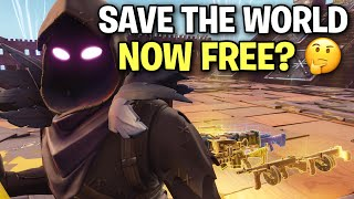 So I guess save the world is now FREE? 🤔 (Scammer Get Scammed) Fortnite Save The World