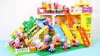 Peppa Pig Blocks Mega House Toys For Kids - Lego Duplo House Construction Sets #7
