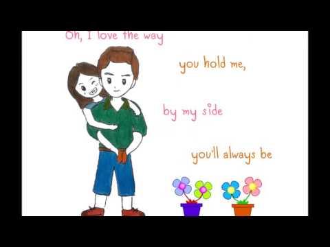 I Love The Way You Hold Me MV