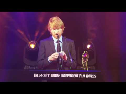 Domhnall Gleeson accepts awards for his father & Tom Hardy | BIFA 2015