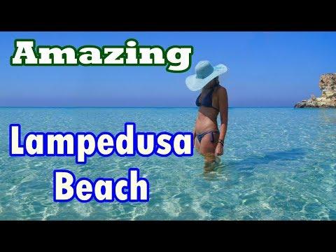Rabbit Beach, Lampedusa islands Of Sicily, Italy