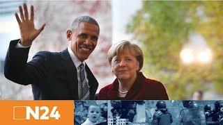 Kirchentags-Highlight: Barack Obama und Angela Merkel diskutieren über Demokratie