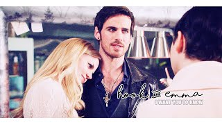 Hook & Emma - I want you to know. ♥