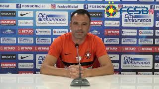 Conferință de presă înainte de FC Voluntari - FCSB!