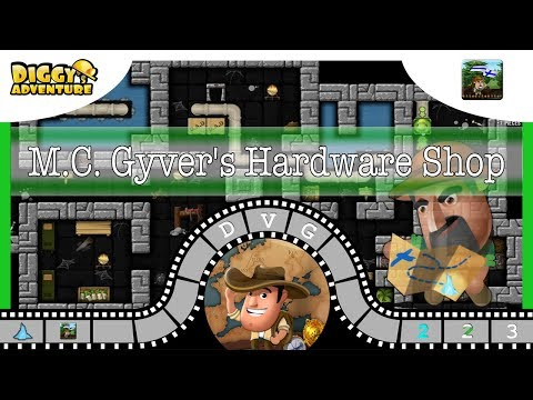 [~Scandinavia Father~] #3 M.C. Gyver's Hardware Shop - Diggy's Adventure