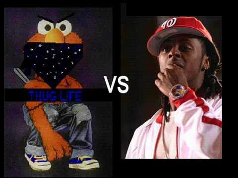 Elmo prank calls lil wayne - YouTubeGangster Elmo Vs Lil Wayne
