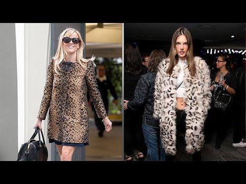 4d9f36966d How to Wear a Leopard Print Coat Trend