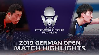 Gambar cover Xu Xin vs Lee Sangsu | 2019 ITTF German Open Highlights (R16)