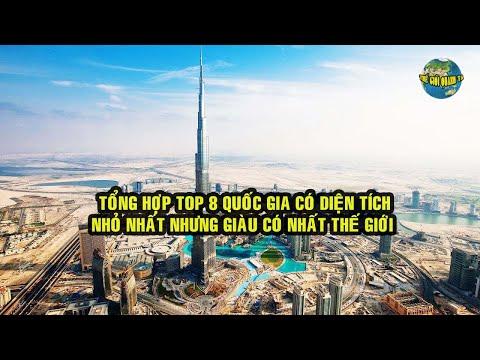 Top 8 quốc gia có diện tích nhỏ nhưng giàu có nhất thế giới