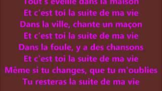 Stone et Charden - La suite de ma vie.