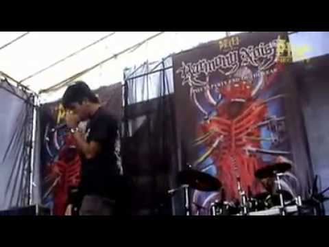 Guttural Disease on the stage live at Harmony Noise #2 (ClipVideo)