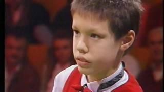 Wetten dass,...  14 Ball Snooker Machine Gun Shot - Wette  komplett  1994 Weltrekord !!!