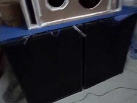 ร้อยซาวด์ เพาเวอร์แอมป์- เทสเสียงเบส 18นิ้ว 1200W