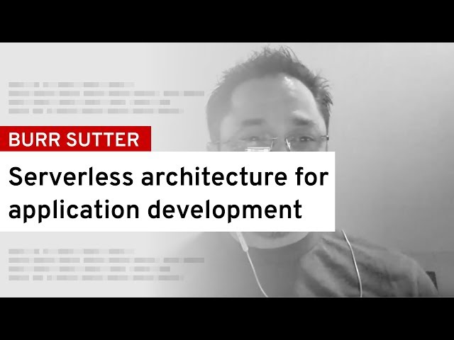 [DevNation Live] An Introduction to Serverless