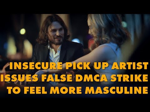 Super Seducer's 'Dating Guru' Issues Fraudulent DMCA Takedown To Prove He's A Man