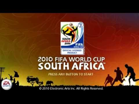 """2010 FIFA World Cup   South Africa """"USA"""" """"PSP"""" """"Hyperspin Media"""""""
