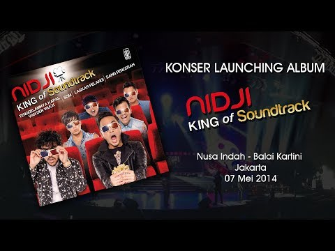 Konser Launching Album  Nidji - King of Soundtrack