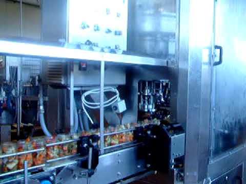 linea di confezionamento automatico conserve vegetali