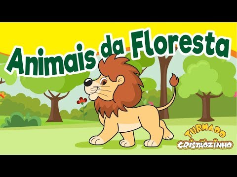 Turma Do Cristaozinho Animais Da Floresta Youtube