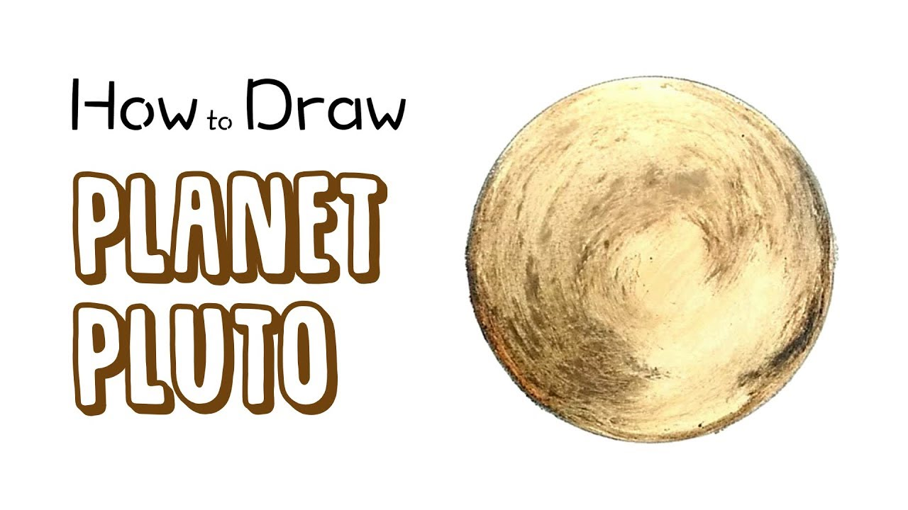 How to Draw Pluto (Planet) - YouTube
