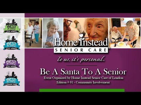 Gifts for Seniors - Be A Santa to a Senior London