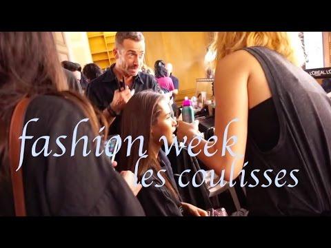Les coulisses de la Fashion week  Vionnet et Carven .