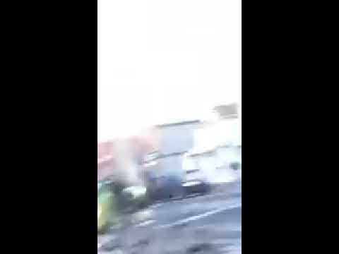 VIDEO: 2 EMTs run over by stolen ambulance in Bronx - [WARNING: GRAPHIC]