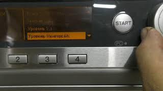 Miele PW 6065 Plus AV Обзор программ и Сервисное меню Miele