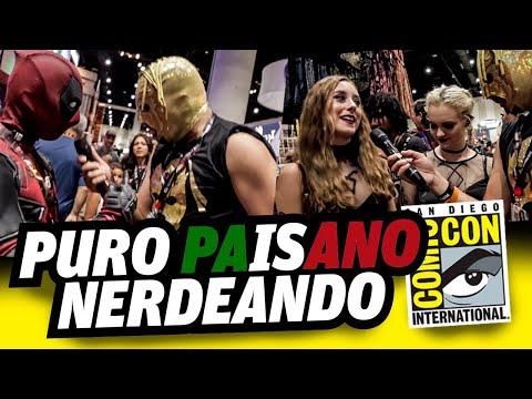 Súper Escorpión suelto en la Comic Con 2017