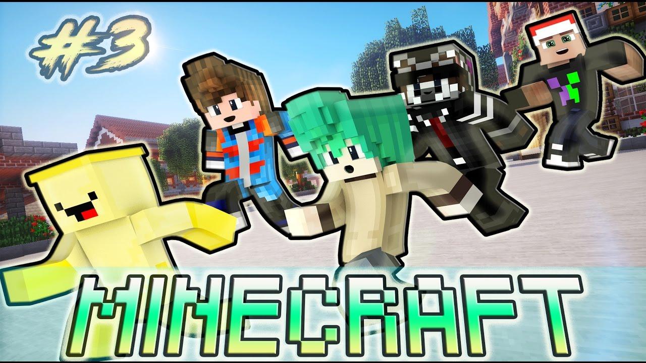 Oops Club Minecraft Phim Cấp 2 - Tập 3 : TRÒ CHƠI TRỐN TÌM SAU GIỜ RA CHƠI