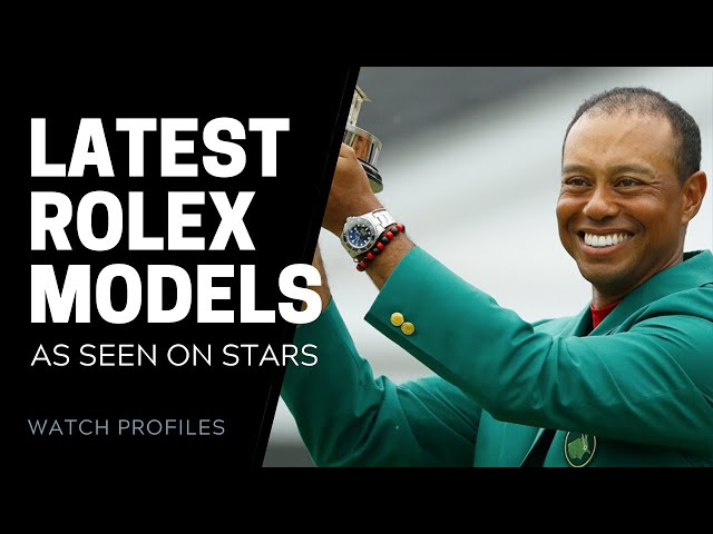 Latest Rolex Watches, As Seen on Stars | SwissWatchExpo [Watch Collection]