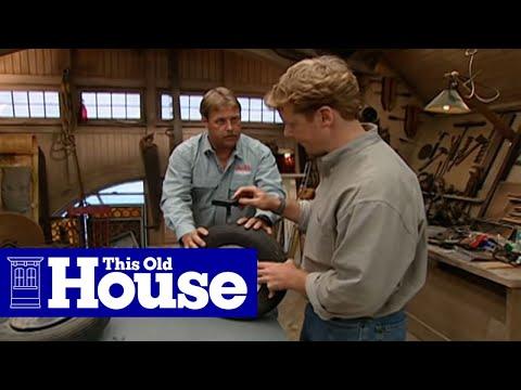 How to Repair a Flat Wheelbarrow Tire | This Old House