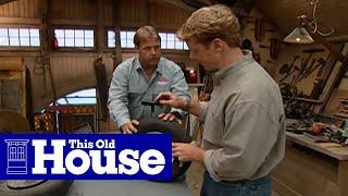 How To Repair A Flat Wheelbarrow Tire - This Old House