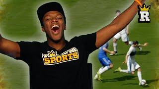 KSI'S BEST GOALS EVER! - SLIDERS FIFA   Rule'm Sports