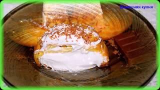 Заварные пирожные с белковым заварным кремом