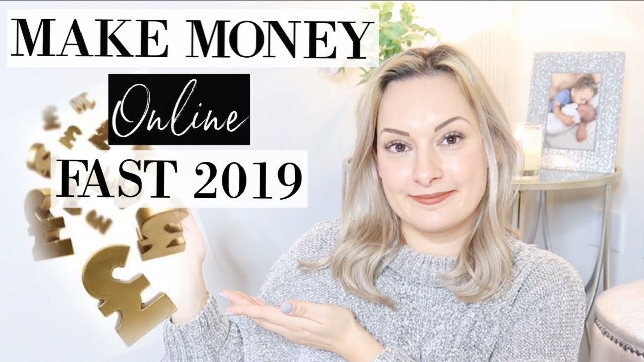 HOW TO MAKE MONEY ONLINE FAST 2019 | MAKE AT LEAST £500 + A MONTH FROM HOME | ELLIS SARA SMITH