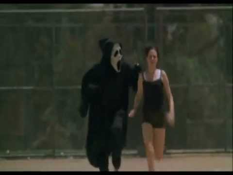 Course poursuite scary scream movie