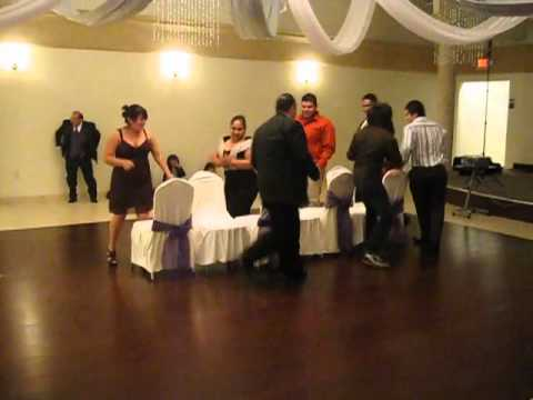 Musical Chairs at Karina and DJ's Wedding