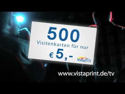 Tv Werbespot Für Visitenkarten Von Vistaprint 2011
