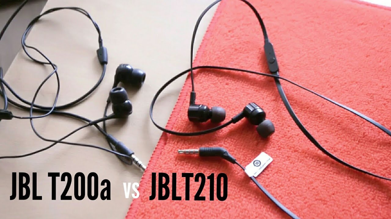 ba7add977ae JBL T210 review after use - YouTube