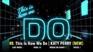 TOP 50 SONG CHART For AUGUST 2014 (Week 1 Chart)