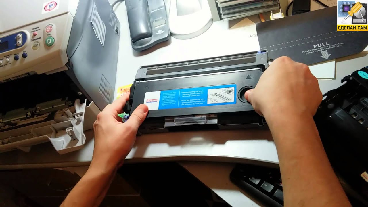 Инструкция по сбросу счетчика тонера принтера brother hl-2030r, hl 2035r — картридж tn-2075, tn-2085. Тонер boost для картриджей brother. Купить. Стандартная ситуация, тонер-картридж brother tn-2075 заправлен и установлен в принтер для печати. Но на панели принтера, яркий и оранжевый.