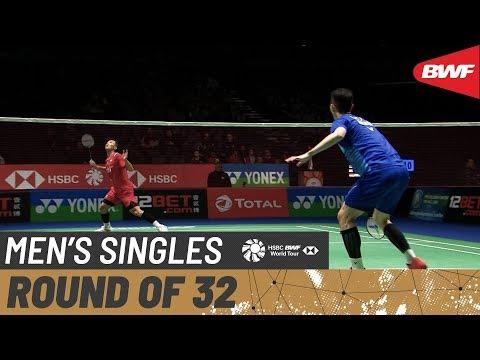 R32 | MS | LEE Zii Jia (MAS) vs. Jonatan CHRISTIE (INA) [6] | BWF 2020