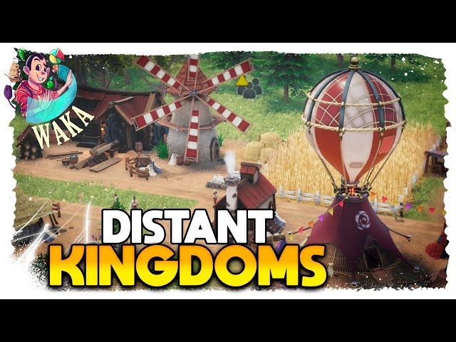 Fantasy Colony Building - DISTANT KINGDOMS #01 - Gameplay PT BR