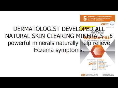 ECZEMA PILL - All Natural Skin Clearing Minerals - Steroid Free