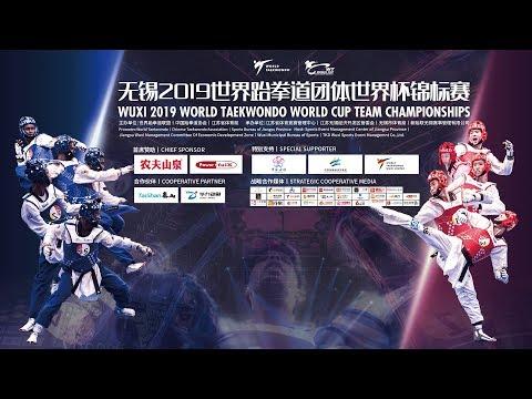 Day2 Wuxi 2019 World Taekwondo World Cup Team Championships